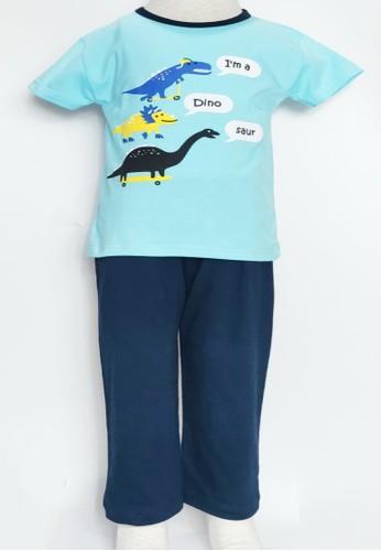 """Owl Dreams blue Owl Dreams """"I'm a Dino Saur"""" Boy Set E8BF8KAF4352DCGS_1"""