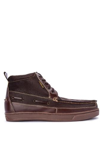 Caterpillar brown EDC-10 Boots CA367SH0IS6JPH_1