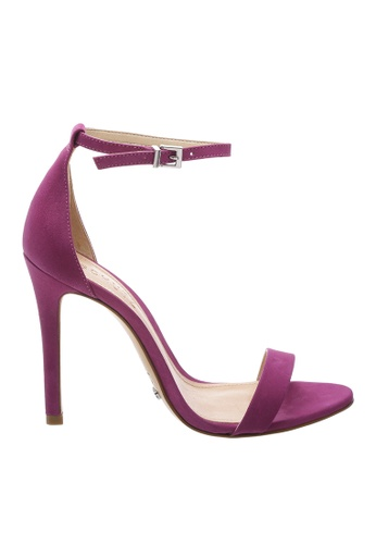 SCHUTZ purple SCHUTZ Strap Sandal - MAGNOLIA (GRAPE) A9CD5SH6547C24GS_1