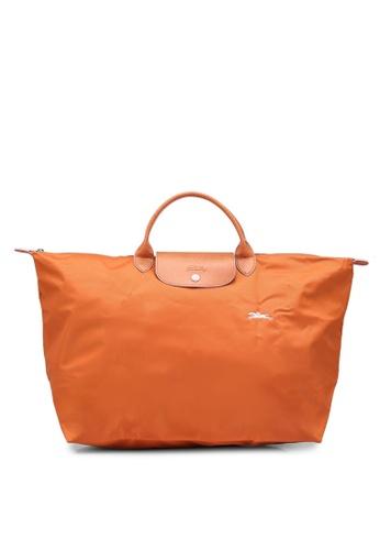 LONGCHAMP orange Le Pliage Club L Travel Bag (zt) A6531AC5D6B9A3GS_1
