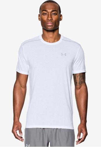 Under Armour white Threadborne Streaker T-Shirt UN337AA0SU0QMY_1