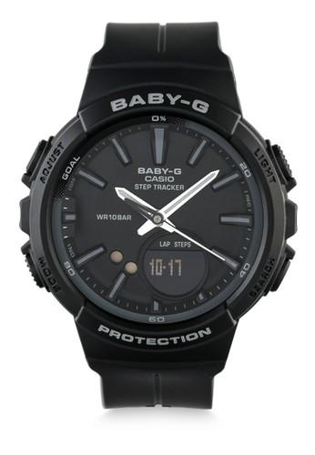 Baby-G black Casio BABY-G Jam Tangan Wanita - Black - Resin - BGS-100SC-1ADR B1528AC7DD3791GS_1