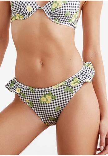 Trendyol black Ruffle Detail Bikini Bottoms 1B074US796A703GS_1