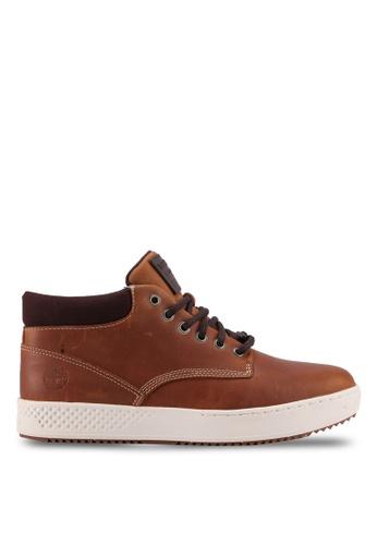 Timberland brown CityRoam Chukka Mid Top Sneakers B4B04SH35D0BF5GS_1