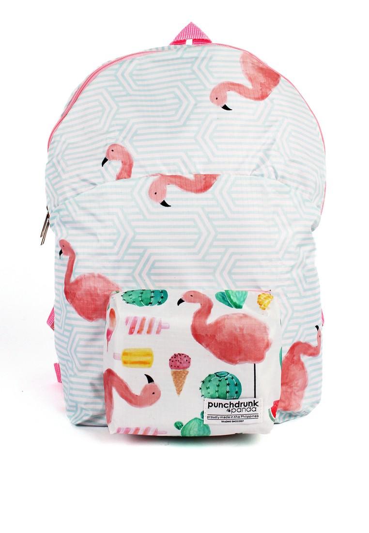 Summer Fun Foldable Backpack