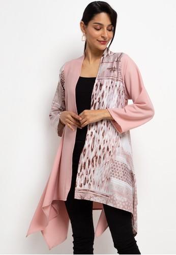 LUIRE by Raden Sirait pink FM Cardi PLMX2 4321AAAEF87A5FGS_1