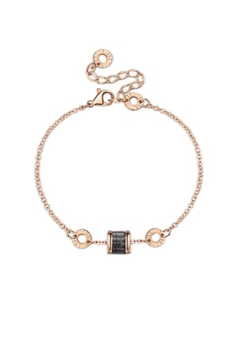 CELOVIS black and gold CELOVIS - Oceane Black Cryolite Bracelet 8EE4AACE4179D9GS_1