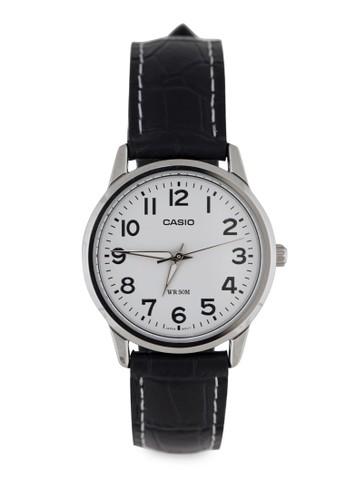 LTP-1303L-7BVDFesprit 台中 三指針數字皮革錶, 錶類, 皮革錶帶