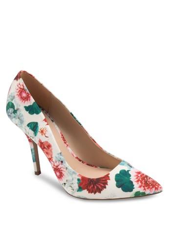 Haollan 花卉尖頭高esprit 衣服跟鞋, 韓系時尚, 梳妝