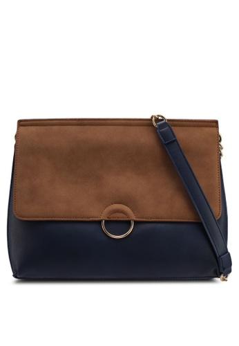 Pieces brown Maribel Crossbody Bag DE71FAC14137EEGS_1