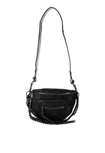 Steve Madden black Bjunior Crossbody Belt bag 41913ACFC766A9GS_1