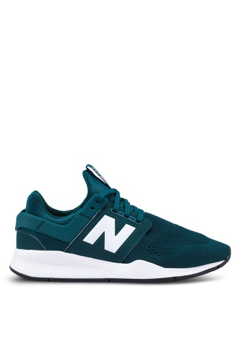 New Balance green 247 Lifestyle Classic Shoes AF62BSH9BB6766GS_1