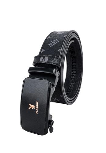 Playboy black 35MM Automatic Belt 3B602ACE042CBDGS_1