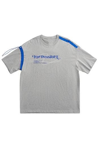 Twenty Eight Shoes Drawstring Printed Short T-shirt 1646S21 5F248AA24AB359GS_1
