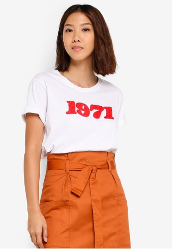 Cotton On white Tbar Fox Graphic T-Shirt 2DA2EAA9558DD4GS_1