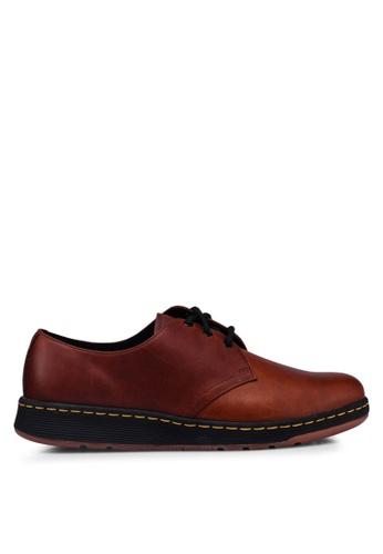 Dr. Martens brown DM's Lite Casual Cavendish 3 Eye Shoes 911F1SHD587B22GS_1