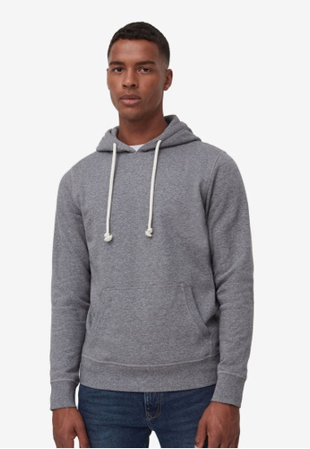 OVS grey Cotton And Viscose Hoodie F4661AA0A6228FGS_1