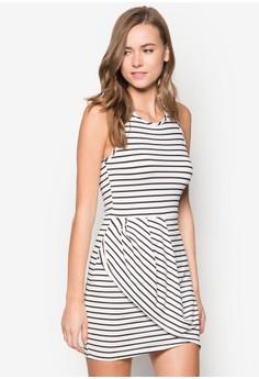 Drape Jersey Dress