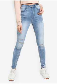 c1e381a0 Factorie blue The Skinny High Rise Jean 982B4AAAFC9391GS_1