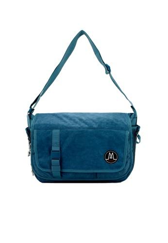 MORAL blue Largo Messenger - Demin 1EC8EAC4F55943GS_1
