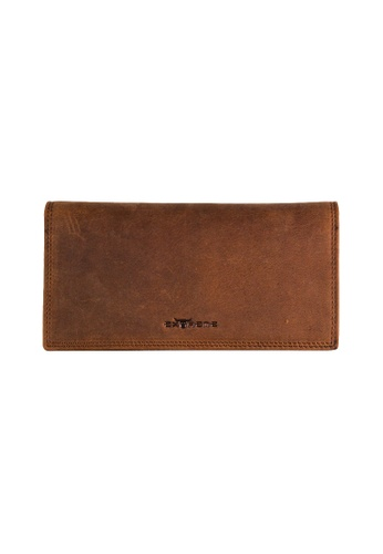 EXTREME brown Extreme Genuine Leather Long Wallet Leather RFID Blocking Light Brown 0CAF6AC026835AGS_1