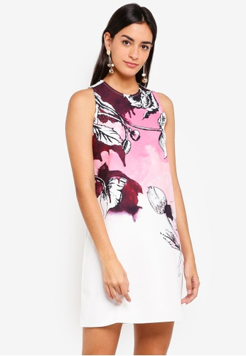 ZALORA multi Bold Floral Printed Dress A3746AABA70330GS_1