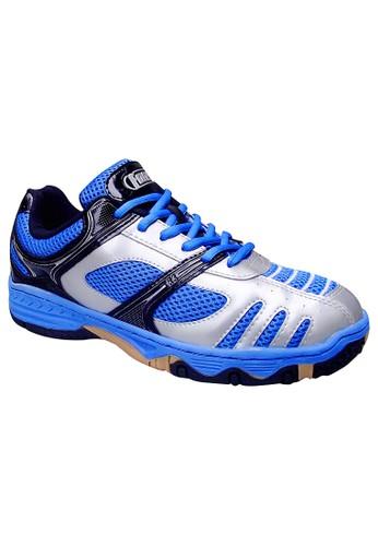 FANS blue Fans R3BL - Badminton Shoes Blue Silver Gum FA469SH36NJNID_1