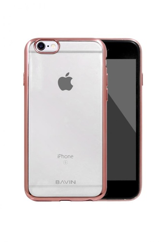 BAVIN pink TPU Soft Case Protector for iPhone 6 324D0AC03B8BD5GS_1