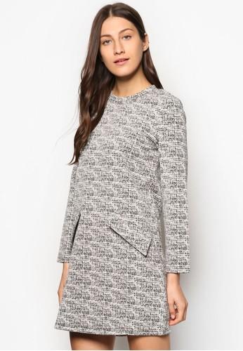 Collection 針織長袖連esprit分店身裙, 服飾, 洋裝