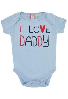 I Love Daddy Onesie for Boys