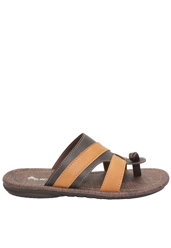 Dr. Kevin brown Dr. Kevin Men Sandals 97220 - Brown/Tan E602DSH0DFAE3DGS_1