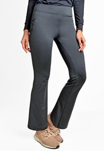 ViQ black ViQ Crisscross Long Pants EBB21AAB7916C0GS_1