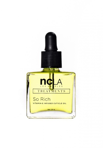 NCLA yellow NCLA So Rich Vitamin E Infused Cuticle Oil - Dark Almond 13.3ml NC633BE03UTCSG_1