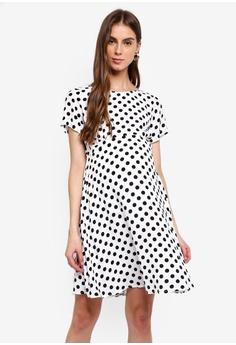 5264a4fb2339f Seraphine white Bonnie Maternity Woven Day Dress D78B6AA1CEB836GS_1