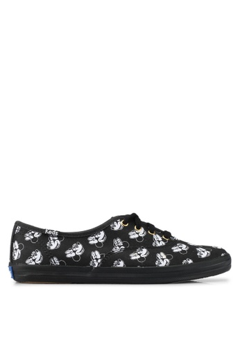 Keds black Champion Minnie Sneakers KE942SH0SR6QMY_1