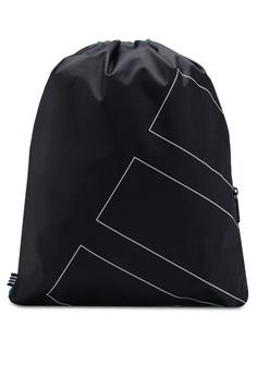 adidas black adidas originals gymsack eqt adv 28B4DACFF1A554GS 1 e1bea782149bf