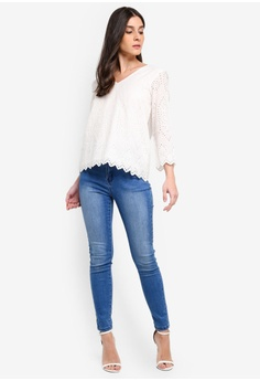 a6cc42b03e0 36% OFF Vero Moda Ebba 3 4 Top S  85.90 NOW S  54.90 Sizes XS S M L XL