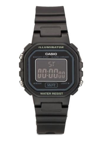 樹脂防水計時鬧鐘電子手錶, zalora 內衣錶類, 飾品配件