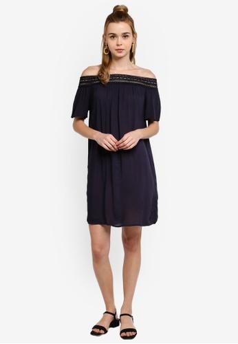 101c3c4ddf Buy JACQUELINE DE YONG Famous Short Sleeve Off Shoulder Dress Online    ZALORA Malaysia