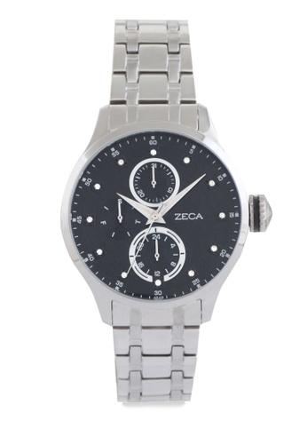ZECA silver Zeca Watches Couple Ladies Fashion - 3006L Silver Black ZE074AC0UL2FID_1