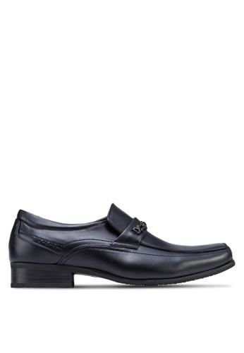 Louis Cuppers black Smart Dress Shoes LO977SH34DSFMY_1