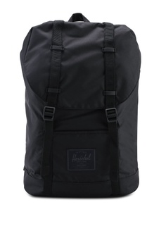 8727bd6a48 Herschel black Retreat Backpack F776AAC6CAEBE6GS 1