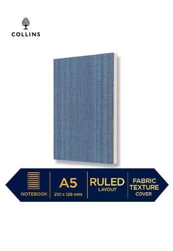 Collins blue Collins Sense   ─  Notebook A5 Ruled Blue 42AC5HLD04EC35GS_1