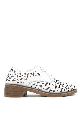 Carlo Rino 白色 White Lace-up Sneakers 7F982SH7F6A06FGS_1