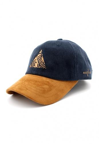 DOSSCAPS navy FLIPPER Thug Triangle Baseball Cap (Navy) 58BD3AC8B3B15DGS_1