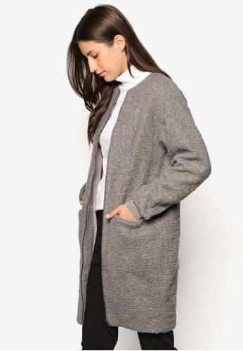 Collection 仿羊毛拉鍊大衣, 服飾, 夾克 & esprit holdings limited大衣