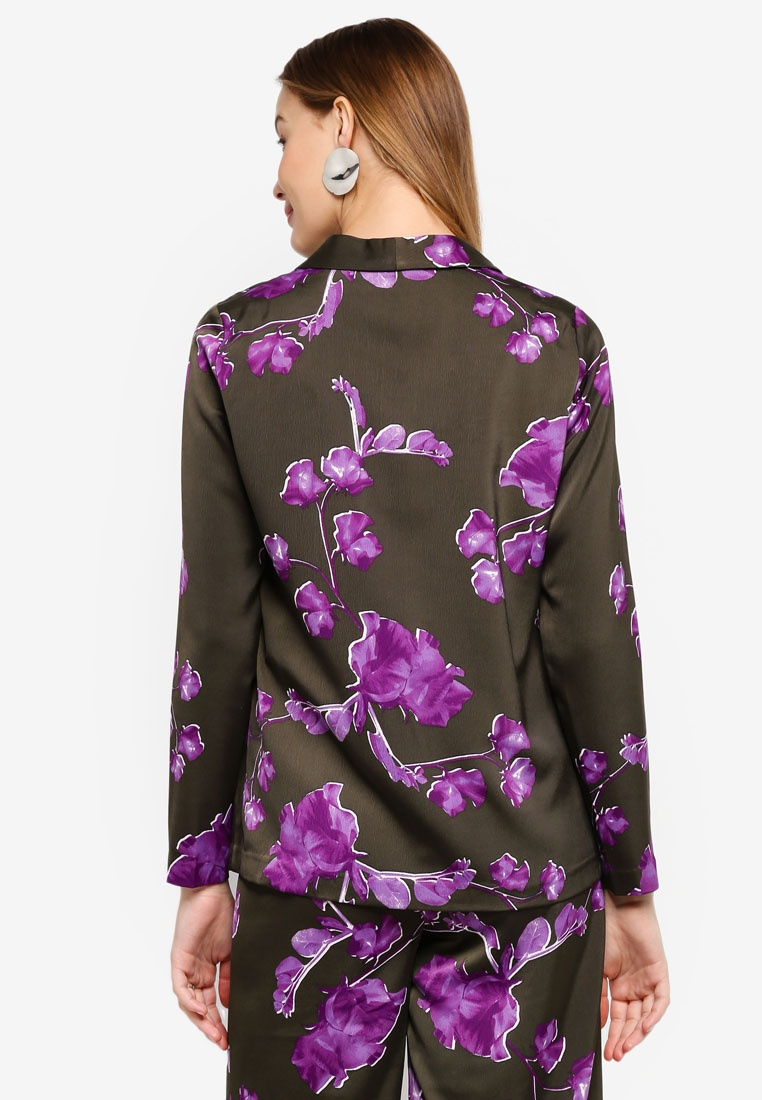 YASSWEETPEA A Sweetpea Night Y Forest BLAZER Print SOFT S AprAfF