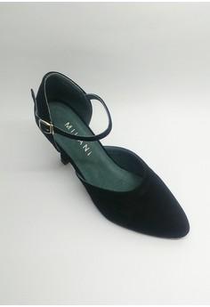 OD 498 Nimfa Dancing Shoes Ballroom Suede Closed Toe.