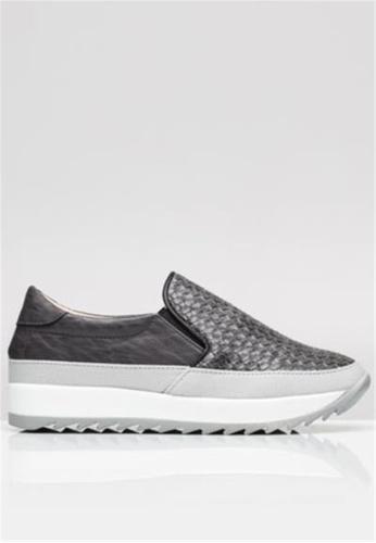 Crystal Korea Fashion grey Korean Woven Lightweight Casual Shoes BAFC9SH59FB1D7GS_1