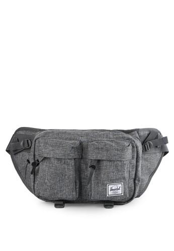 Herschel grey Eighteen Hip Pack HE449AC0UOMWID_1